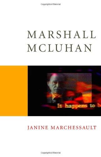 Marshall McLuhan (Core Cultural Theorists series)