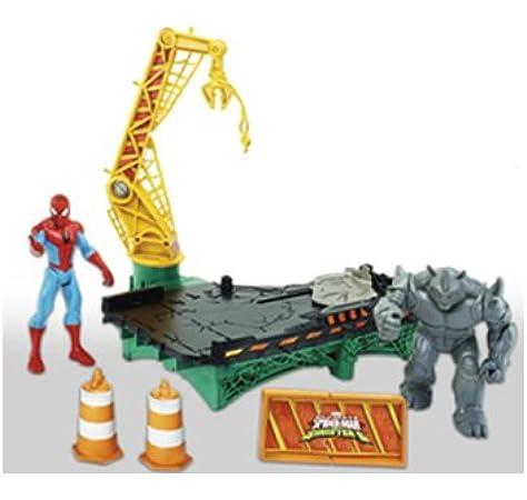 Spiderman B7199EU40 Marvel Rhino Rampage Juego: Amazon.es: Juguetes y juegos