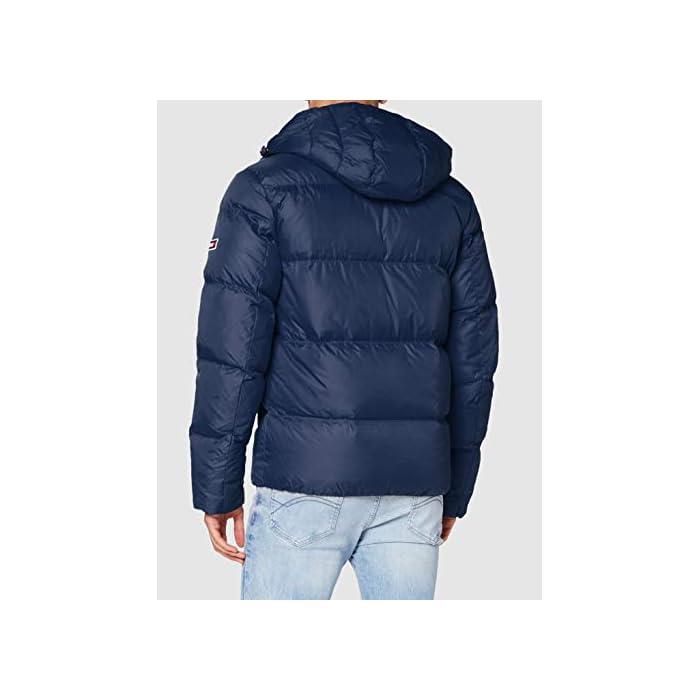 41Af7CRMcWL Tommy Jeans ropa exterior para hombre Este producto se ha producido de forma sostenible 98% Algodón, 2% Elastano