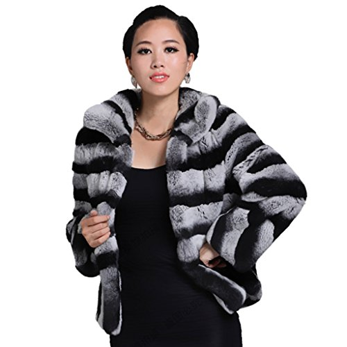 Chinchilla Fur Coat - 6