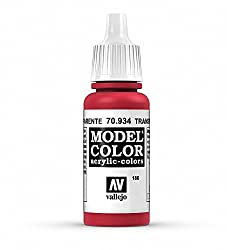Vallejo Transparent Red Paint, 17ml from MMD Holdings, LLC