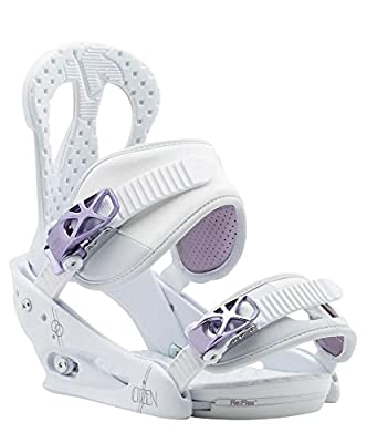 Burton Citizen Women's Snowboard Bindings White Purple Size Medium US 6-8