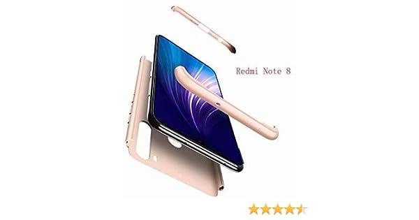 LsYun Funda Compatible para Samsung Galaxy Note 8 Carcasa 3 en 1 Estructura Hard PC Case 360/°Antideslizante A Prueba de Golpes Protector Regalo 2* Pel/ícula de Vidrio Templado-Negro