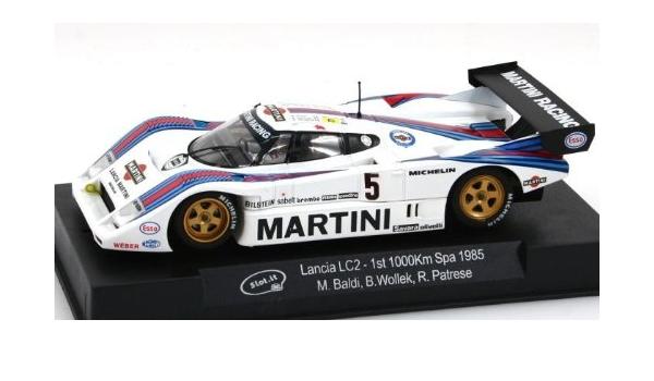 Slot.it CA21b Lancia LC2 1st 1000Km Spa 1985 1//32 Scale Slot Car