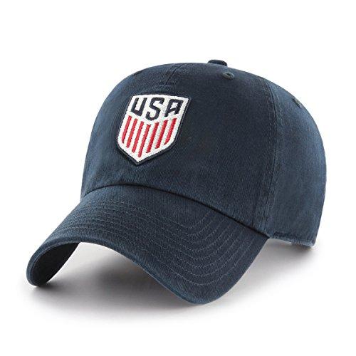 World Cup Soccer United States OTS Challenger Adjustable Hat, Navy-US Men's Team, One - Hat Team