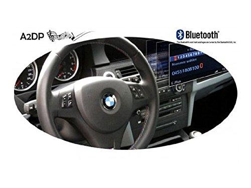 Kufatec 37663/FISCON Manos Libres Pro para BMW Serie E de hasta 2010 Negro