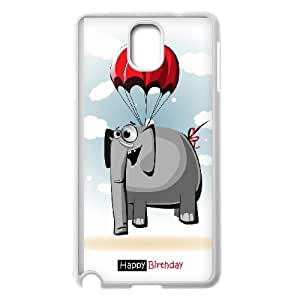 UNI-BEE PHONE CASE For Samsung Galaxy NOTE4 Case Cover -Animal Elephant Pattern-CASE-STYLE 10