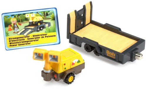 Along Take Power Generator (Bob the Builder - Vehicle - Die Cast Power Generator with Work Lights)