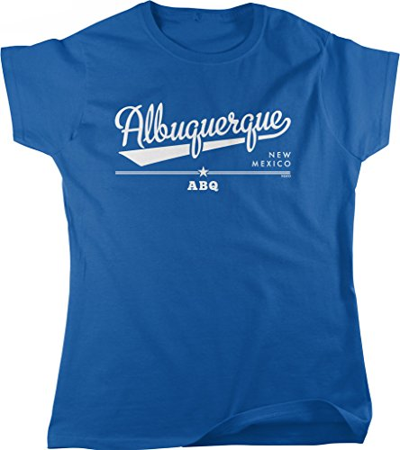 Albuquerque, New Mexico, ABQ Women's T-shirt, NOFO Clothing Co. S - Albuquerque Uptown