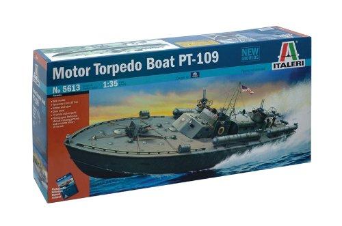 - Italeri Motor Torpedo Boat PT-109 Model Kit