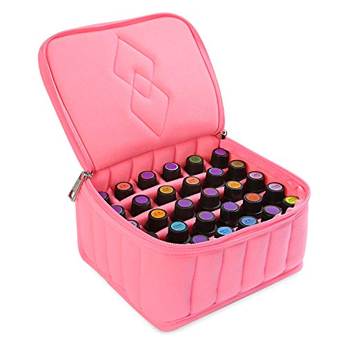 NH-NH Box Organizer Portable 30 Bottles Essential Oil Carrying Shockproof Case Cosmetic Bag 15ml Oil Holder Travel Storage Box Nail Polish Organizer