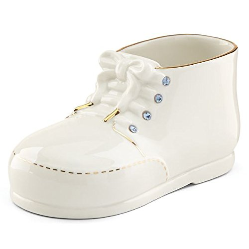 - Lenox Baby Shoe with Blue Crystals