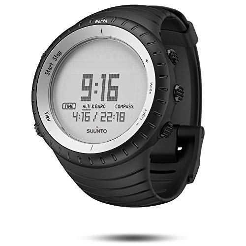 SUUNTO Core Wrist-Top Computer Watch with Altimeter, Barometer, Compass, and Depth Measurement (White Crush)