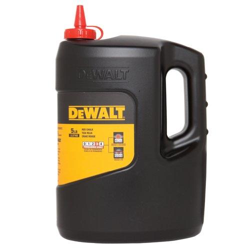 DEWALT DWHT47059 5-Pound Chalk, Red