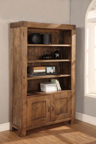 Devon 2tür breit Bücherregal wieder Eiche massiv Möbel