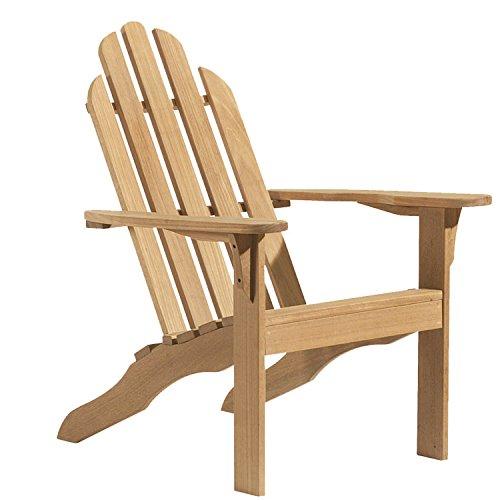 Adirondack Chair (Oiling Teak Outdoor Furniture)