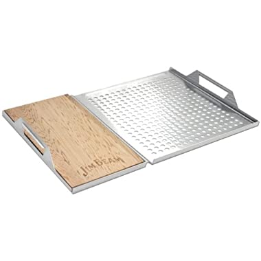 Jim Beam Cedar Plank Grill Topper Set