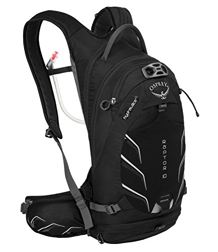 Osprey Packs Raptor 10 Hydration Pack, Black