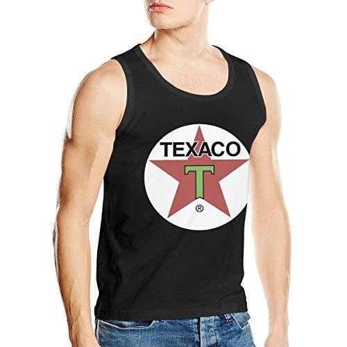 Texaco Tank - TEXACO Mens Stylish Men's Tank Top Shirt Boy's Vest L Black