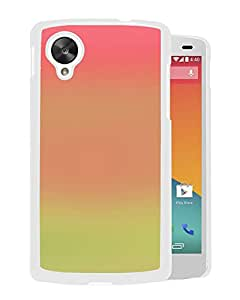 Unique Designed Cover Case For Google Nexus 5 With Africa Morning Gradation Blur Wallpaper (2) Phone Case