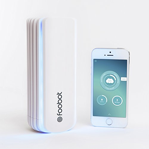Foobot, Indoor Air Quality Monitor, Works with Alexa, Nest, and IFTTT