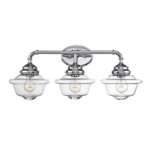 Savoy House 8-393-3-11 Fairfield 3-Light Vanity Bar in Chrome