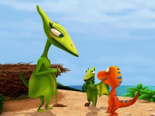 Laura the Giganotosaurus/Dinosaur Poop! -