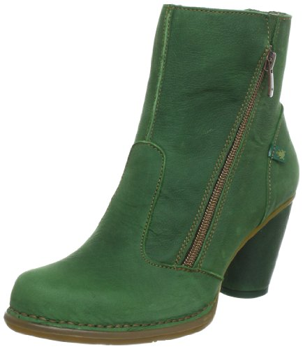 El Naturalista N473 Colibri Ladies Stivali Mezza Gonna Verde (pino)