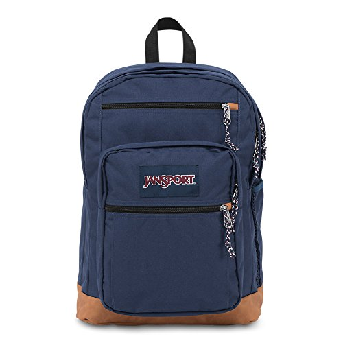Freedom Synthetic Leather - JanSport Cool Student Laptop Backpack - Navy
