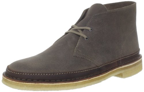 Clarks Men's Desert Guard Lace-Up Boot,Taupe Suede,10.5 M US