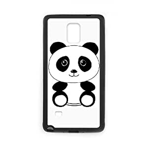 Samsung Galaxy Note 4 Phone Case Covers Black The Panda HSL Cell Phone Case Customized 3D