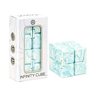 Daily Vibrations   Infinity Cube   Durable Stress Relieving Fidget Toy   Stress and Anxiety Relief Fidget Cube   Relaxing Hand-Held Fidget Toy for Adults and Kids