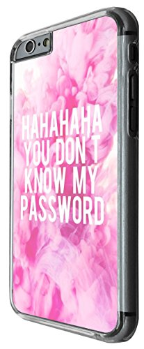 1193 - Hahahaha You Don't Know My Password Design For iphone 4 4S Fashion Trend CASE Back COVER Plastic&Thin Metal -Clear
