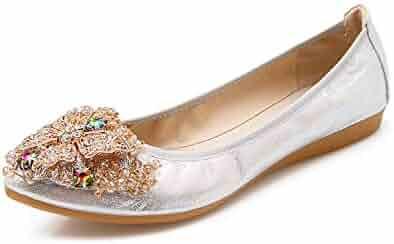 da6d93bbc40e Shopping Last 30 days - 4 - Silver - Flats - Shoes - Women ...