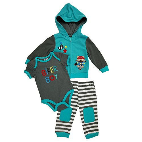 3 Piece Baby Outfit - 6