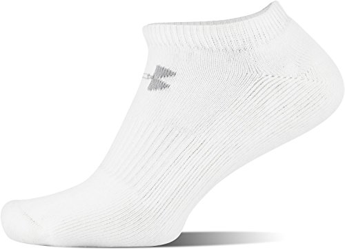 Under Armour Mens Charged Cotton 2.0 No Show Socks (6 Pack)