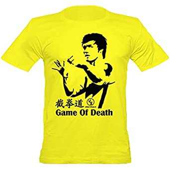 Urban shaolin men 39 s bruce lee game of death inspired for Amazon custom t shirts