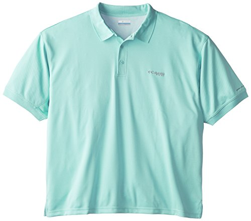 Columbia Sportswear Perfect Cast - Columbia Sportswear Men's Perfect Cast Polo Shirt, Gulf Stream, 2X