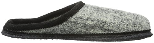 Beck Unisex Adults' Home Low-Top Slippers Grey - Grau (24) UG6dTB8