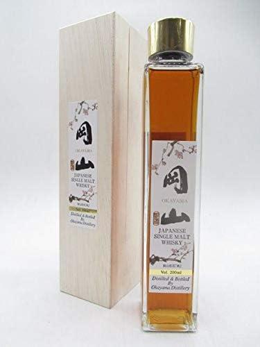 宮下酒造 岡山 トリプルカスク ジャパニーズ シングルモルト ウイスキー 木箱入り ミニサイズ 43度 200ml