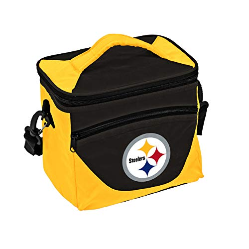 Logo Brands NFL Pittsburgh Steelers Halftime Lunch Cooler, One Size, ()