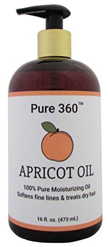 Pure 360 100% Apricot Oil 16 fl oz