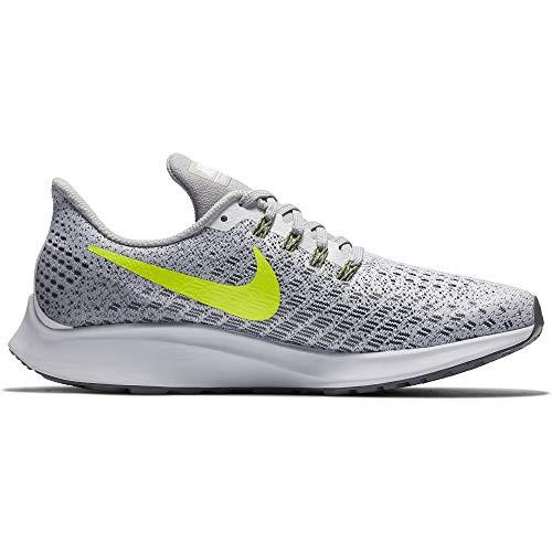 Image of Nike Women's Zoom Pegasus 35 Running Shoe White/Volt/Gunsmoke/Atmosphere Grey Size 10 M US