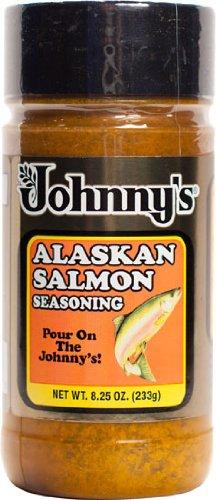 Johnny's Alaskan Salmon Seasoning Blend 8.25 oz (Best Seasoning For Salmon)