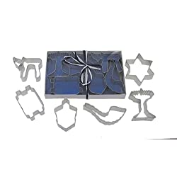 R & M Jewish Holiday Cookie Cutter Set