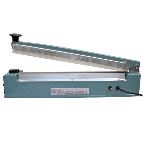 Impulse Manual Bag Sealer Heat Seal Closer 16 Inch With