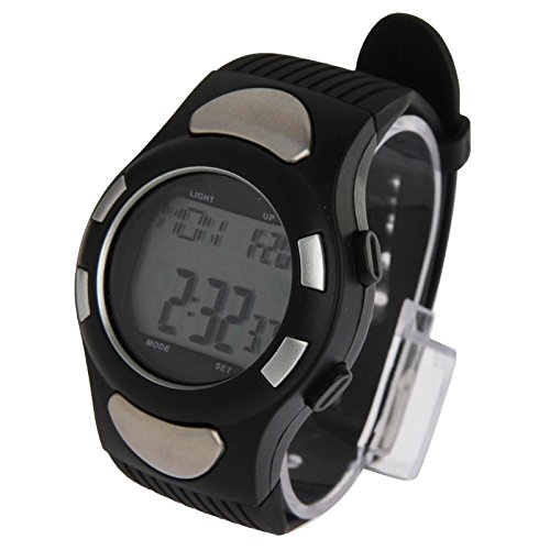 Beautiful Watches , Black Strapless Heart Rate Monitor Sport Watch