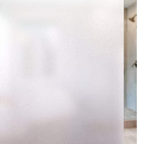 Rabbitgoo Privacy Window Film Frosted Film No Glue Anti-UV Window Sticker Heat Control Window Cling Non-Adhesive for…