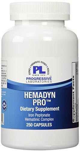 Progressive Labs Hemadyn Pro Supplement, 250 Count