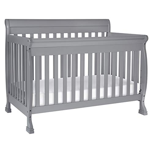 DaVinci Kalani 4-in-1 Convertible Crib, Grey ()